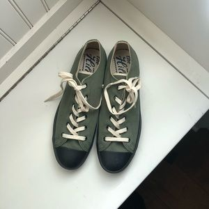 The Hill-side low top canvas sneakers